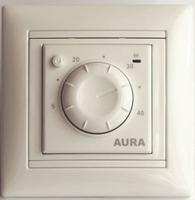 Aura Терморегулятор LTC 030 крем (подходит под рамки Legrand Valena)