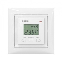 Aura Терморегулятор LTC 070 белый (подходит под рамки Legrand Valena)