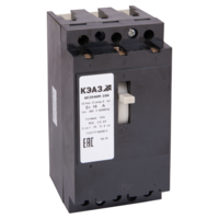 Автоматический выключатель АЕ2046М-100-4А-12Iн-400AC-У3 в литом корпусе 104624