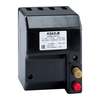 Автоматический выключатель АП50Б-3МТ-4А-10Iн-400AC-У3 в литом корпусе 107279