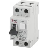 Автоматический выключатель дифференциального тока АВДТ 63 C25А 30мА 1P+N ТИП AC NO-901-82