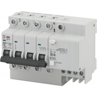 Автоматический выключатель дифференциального тока АВДТ2 C16А 30мА 3P+N ТИП AC NO-902-142