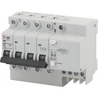 Автоматический выключатель дифференциального тока АВДТ2 C63А 30мА 3P+N ТИП AC NO-902-148