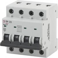 Автоматический выключатель ВА47-29 4P 25А кривая C NO-900-66