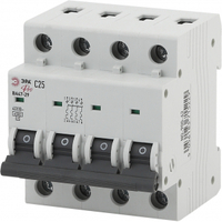 Автоматический выключатель ВА47-29 4P 63А кривая C NO-900-66