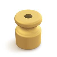 BIRONI изолятор пластик цвет Слоновая кость (100шт) B1-551-211