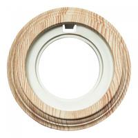 BIRONI Рамка 1 постовая, пластик, Карельская сосна BF1-610-13/PL