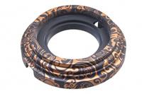 BIRONI Рамка 1 постовая, пластик, цвет Античная Медь BF1-610-15/PL