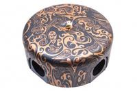 BIRONI Распределительная коробка 110мм, пластик, цвет Античная Медь B1-522-15