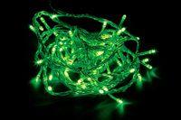 CL02 Гирлянда линейная, 20 LED зеленый, 2м + 1.5м прозрачный шнур 26770