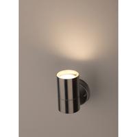 Декоративная подсветка под лампу Е27 IP44 хром WL15