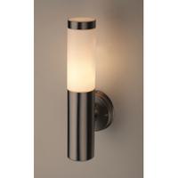 Декоративная подсветка под лампу Е27 IP44 хром/белый WL17