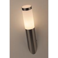 Декоративная подсветка под лампу Е27 IP44 хром/белый WL18