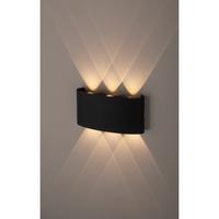Декоративная подсветка светодиодная 6*1Вт IP54 черный WL12 BK