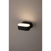 Декоративная подсветка светодиодная 6Вт IP54 черный WL9 BK