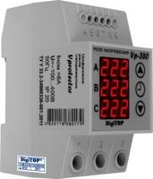 DigiTOP реле напряжения 1 пер.контакт 6A 380V (3 фазы) Vp-380V