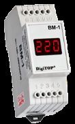 DigiTOP вольтметр действующего значения переменного тока Вм-1 однофазный