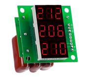 DigiTOP вольтметр действующего значения переменного тока Вм-14(3x220в) трехфазный без корпуса