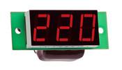 DigiTOP вольтметр действующего значения переменного тока Вм-19(220в) однофазный без корпуса