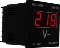 DigiTOP вольтметр действующего значения переменного тока Вм-1м однофазный щитовой