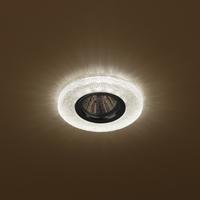 DK LD1 BR Светильник ЭРА декор cо светодиодной подсветкой (3W),  коричневый (50/1400)