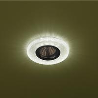 DK LD1 GR Светильник ЭРА декор cо светодиодной подсветкой (3W), зеленый (50/1400)