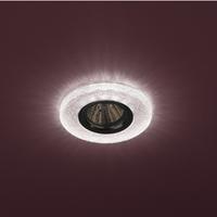 DK LD1 PK Светильник ЭРА декор cо светодиодной подсветкой (3W), розовый (50/1400)