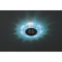 DK LD2 SL/BL Светильник ЭРА декор c голубой светодиодной подсветкой (3W), прозрачный