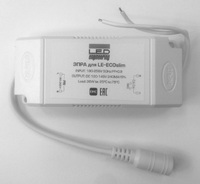 ЭПРА для LE-ECOslim , INPUT: 180-265V, OUTPUT: DC 120-145V 240mA 36W для светодиодной панели