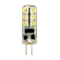 FERON лампа светодиодная G4 2W теплая силикон 12В LB-420 2700K