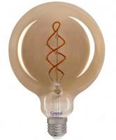 GENERAL лампа светодиодная декоративная GLDEN-G125DSS-6-230-E27-1800 684600