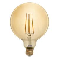 GENERAL лампа светодиодная декоративная GLDEN-G125S-8-230-E27-2700 Золотая 655309
