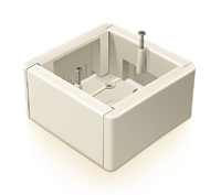 Greenel коробка подъемная белая GE 40231-01