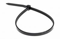 Хомут нейлоновый (стяжка кабельная) 150x2,5мм 100шт чёрный