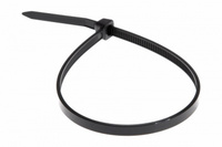 Хомут нейлоновый (стяжка кабельная) 250x3,6мм 100шт чёрный