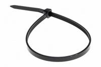 Хомут нейлоновый (стяжка кабельная) 300x3,6мм 100шт чёрный