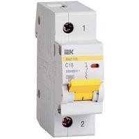 iEK Автоматический выключатель ВА47-100 1П 80A хар-ка С MVA40-1-80-C