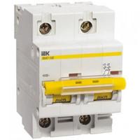 iEK Автоматический выключатель ВА47-100 2П 25A хар-ка С MVA40-2-25-C