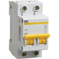 iEK Автоматический выключатель ВА47-29 2П 25А хар-ка B MVA20-2-025-B