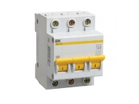 iEK Автоматический выключатель ВА47-29 3П 2А хар-ка B MVA20-3-002-B