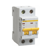 iEK Автоматический выключатель ВА47-29М 2П 20 хар-ка С MVA21-2-20-C