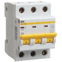 iEK Автоматический выключатель ВА47-29М 3П 25A хар-ка С MVA21-3-25-C