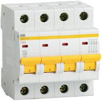 iEK Автоматический выключатель ВА47-29М 4П 50A хар-ка С MVA21-4-50-C