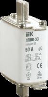 IEK Плавкая вставка предохранителя ППНИ-33 габарит 0 63А DPP20-063
