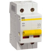 iEK Выключатель нагрузки ВН-32 2П 32А MNV10-2-032