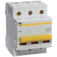 iEK Выключатель нагрузки ВН-32 3П 25А MNV10-3-025