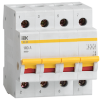 iEK Выключатель нагрузки ВН-32 4П 20А MNV10-4-020