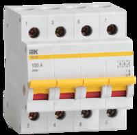 iEK Выключатель нагрузки ВН-32 4П 25А MNV10-4-025