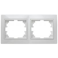 Intro Plano Рамка 2-я белая 1-502-01