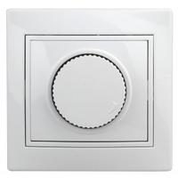 Intro Plano Светорегулятор поворотный(диммер) 600Вт белый 1-401-01
